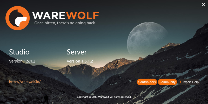 Warewolf latest release server to server