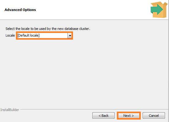 Screenshot of Advanced Options - PostgeSQL used in the Warewolf Blog