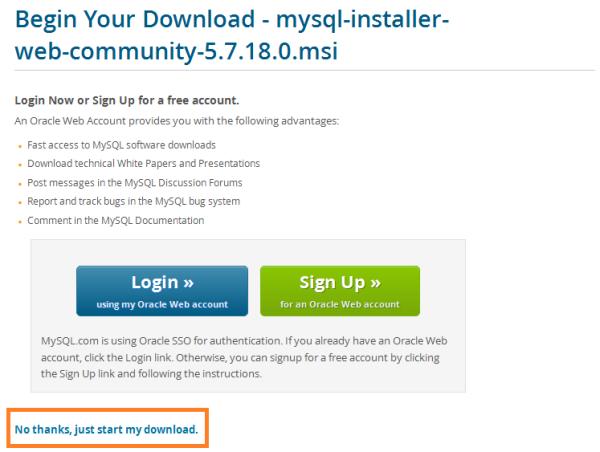 warewolf blog - mysql - start download