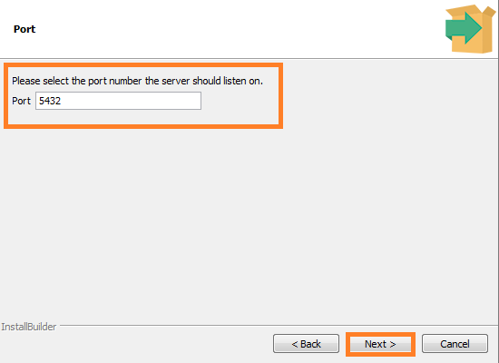 Screenshot of Port Number - PostgreSql used in the Warewolf Blog