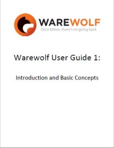 Warewolf user guide 1